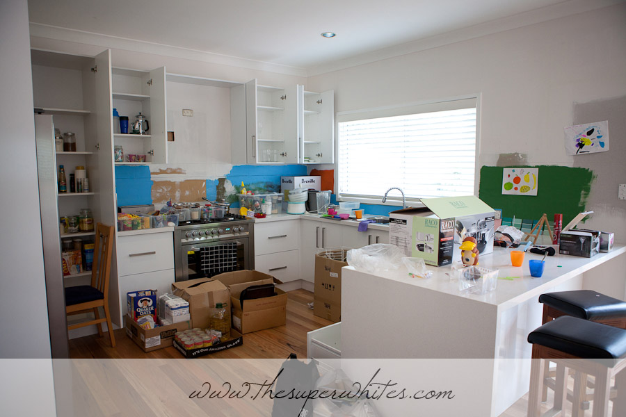 Renovations - moving into the kitchen
