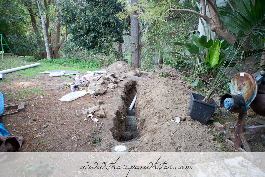 Renovations - new sewer system